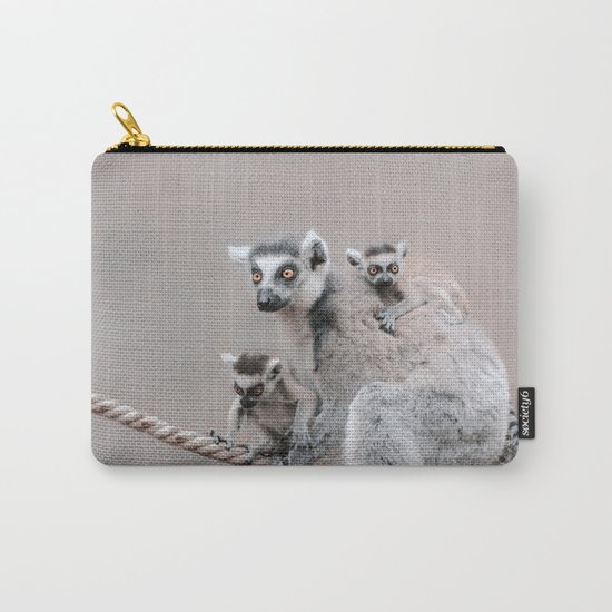 LEMURS by Monika Strigel Carry-All Pouch