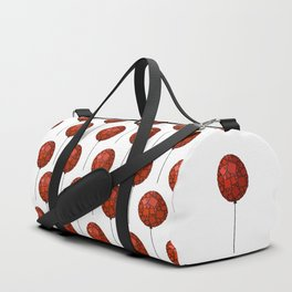 Rise Up - Little Red Balloon - Love - Children - 57 Montgomery Ave Duffle Bag