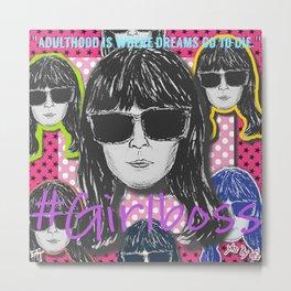 (Girl Boss - Britt Robertson) - yks by ofs珊 Metal Print