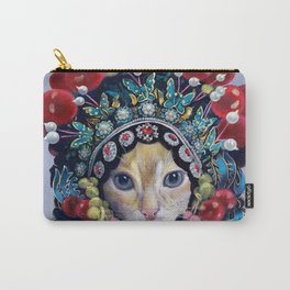 peking opera cat Carry-All Pouch