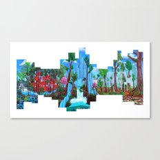 Future City Canvas Print