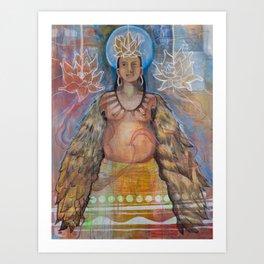 Womb of Grace Art Print