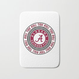 Alabama University Roll Tide Crimson Tide Bath Mat