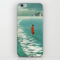 cities iPhone & iPod Skins featuring Waiting For The Cities To Fade Out by Frank Moth