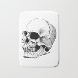 Dire Skull - A Macabre Warning Bath Mat