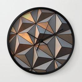 Triangle pattern 3d Wall Clock