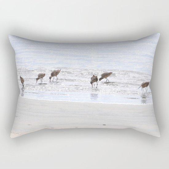 Picnickers  Rectangular Pillow