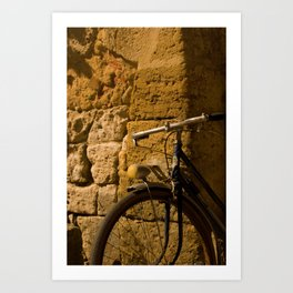 Bike Stop Art Print