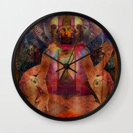 About Time (aka Mantra Hiroshima) Wall Clock