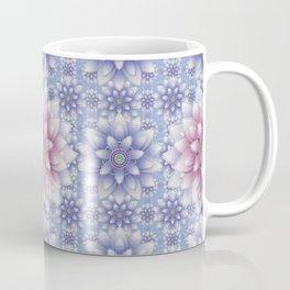 Embroidered Rose Quartz & Serenity Coffee Mug