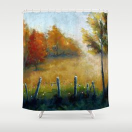 Party Lights Shower Curtain
