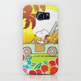 Snoopy Sunrise iPhone Case