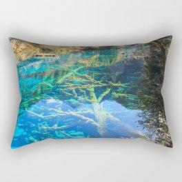 Jiuzhaigou National Park Rectangular Pillow