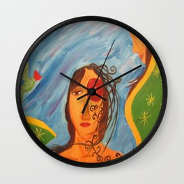 """""""Today you are Called Chicana"""" Wall Clock"""