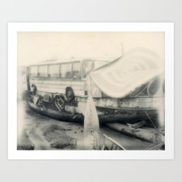 Shoreham House Boat Art Print
