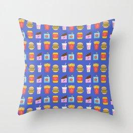 Snacks 2 Throw Pillow