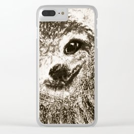 Sloth Clear iPhone Case