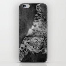 Lazy Leopard iPhone & iPod Skin