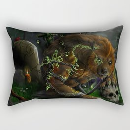 Evocation of the beast Rectangular Pillow