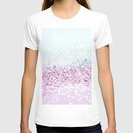 Mermaid Girls Glitter #1 #shiny #pastel #decor #art #society6 T-shirt