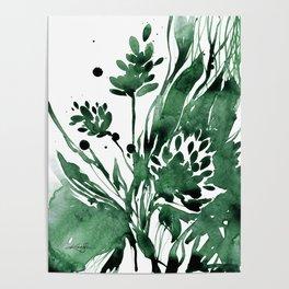 Organic Impressions No. 103 by Kathy Morton Stanion Poster