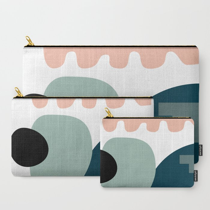 Shape_study_18__Stackable_Collection_CarryAll_Pouch_by_mpgmb__Set_of_3