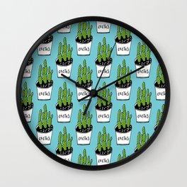 Cactus 01 Wall Clock