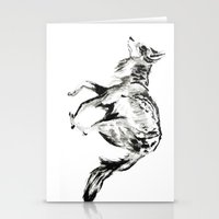 coyote Stationery Cards featuring COYOTE by ShelbyTaylor