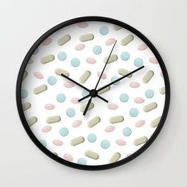 Percocet Pills Wall Clock