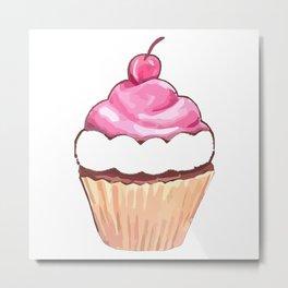 Be A Beautiful Cupcake Metal Print
