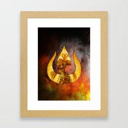 Chandra Nalaar the Firebender Framed Art Print