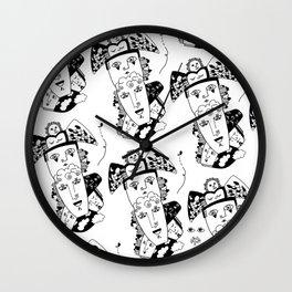 Totem Ipsum Wall Clock