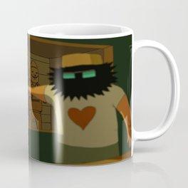 WHO MURDERED MR. BODDY ? Coffee Mug