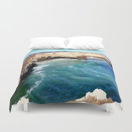 Bonny Doon Beach Duvet Cover