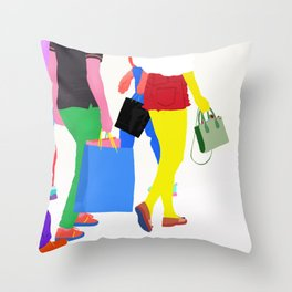 Un Sacco Di Calore Throw Pillow