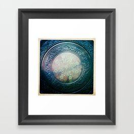 Round Art Framed Art Print