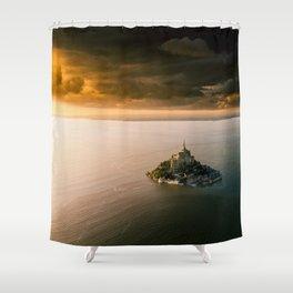 Mont Saint Michel Shower Curtain
