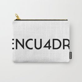 La Encuadre (WIP, always) Carry-All Pouch