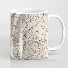 Vintage Map of London England (1764) Coffee Mug