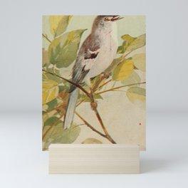 Vintage Print - Mockingbird Mini Art Print