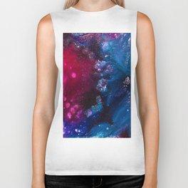 Oceans and Nebulas Biker Tank