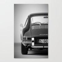 porsche Canvas Prints featuring Porsche by CABINWONDERLAND