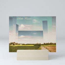 Belle France, en pièces Mini Art Print