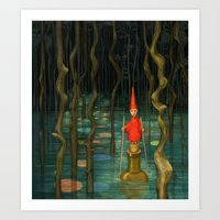 Small Journeys Art Print