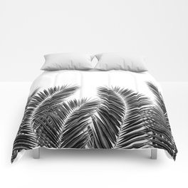 White Palm Skies Comforters
