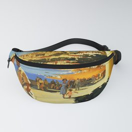 Weston Super-Mare Travel Poster Fanny Pack