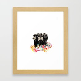 We are all cool though! Framed Art Print
