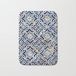 Portuguese glazed tiles Bath Mat