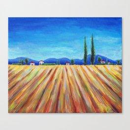 Summer Field landscape Canvas Print