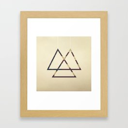 Stars_and Strypes (iPhone Created) Framed Art Print